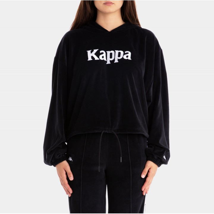 Kappa - AUTHENTIC JPN BELUA VELOUR HOODIE