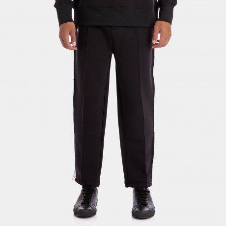 Kappa - AUTHENTIC JPN BISO BLACK WHITE TROUSERS
