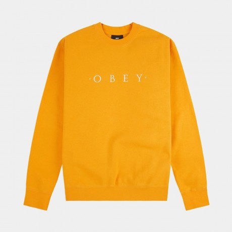 OBEY - Nouvelle II Crewneck Gold