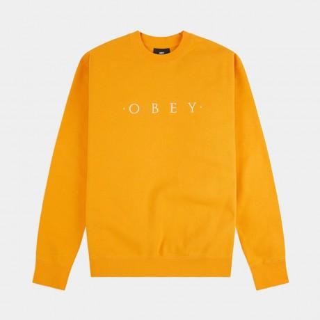 OBEY - Nouvelle II Crewneck Gold