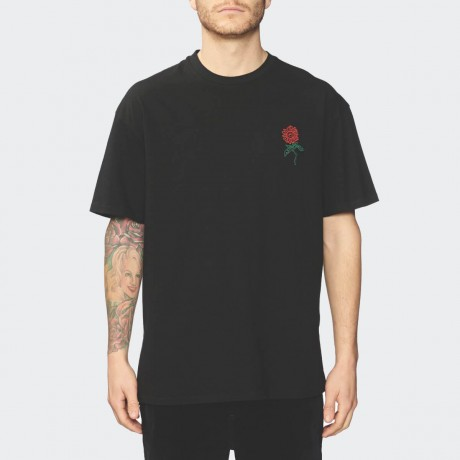 GLOBE - Bloom Tee Black