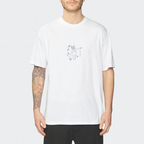 GLOBE - Appleyard All In Tee White