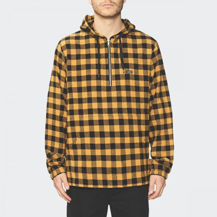 GLOBE - Zip It LS Shirt Golden Nugget