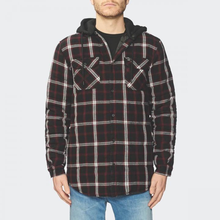 GLOBE - Alford III LS Shirt Slate Berry