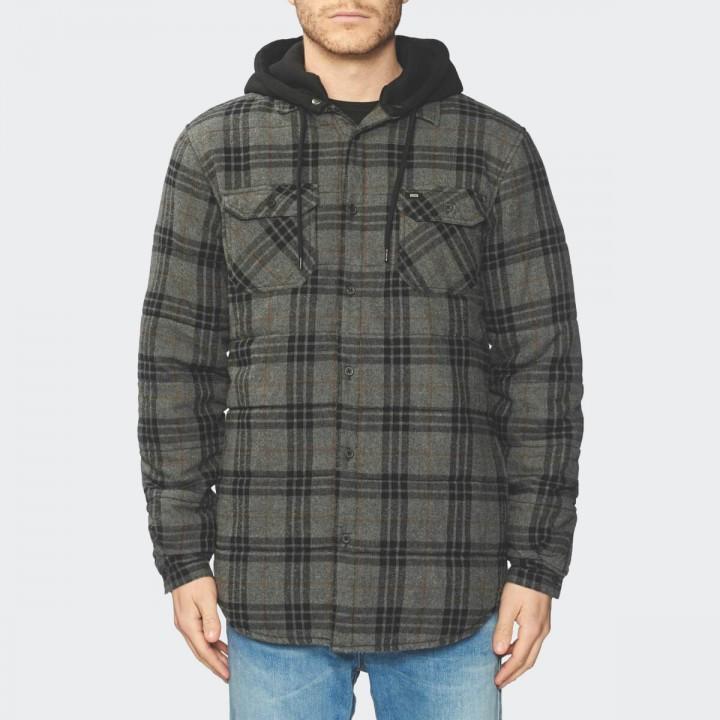 GLOBE - Alford III LS Shirt Slate Grey