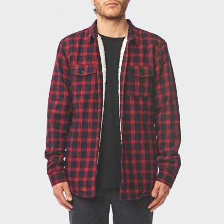 GLOBE - Camden II LS Shirt Berry
