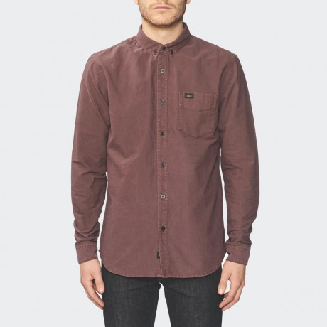 GLOBE - Goodstock Oxford LS Shirt