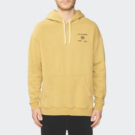 GLOBE - Cult Of Freedom Hoodie Washed Curry