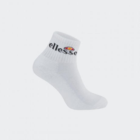 Ellesse - Arrom 3 Pack Sports Socks White
