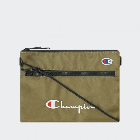Champion - Reverse Weave Small Shoulder Bag Olive Green