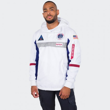 Alpha Industries - Space Camp Anorak White