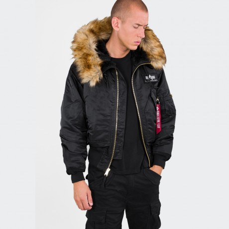 Alpha Industries - 45P Hooded Black