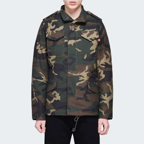Alpha Industries Inc. - M65 Heritage Woodland Camo