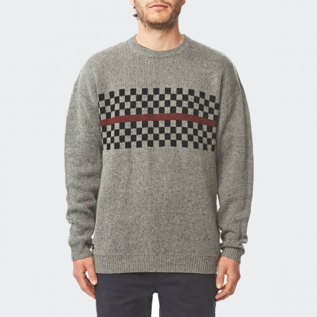 GLOBE - Duster Sweater Grey Nep