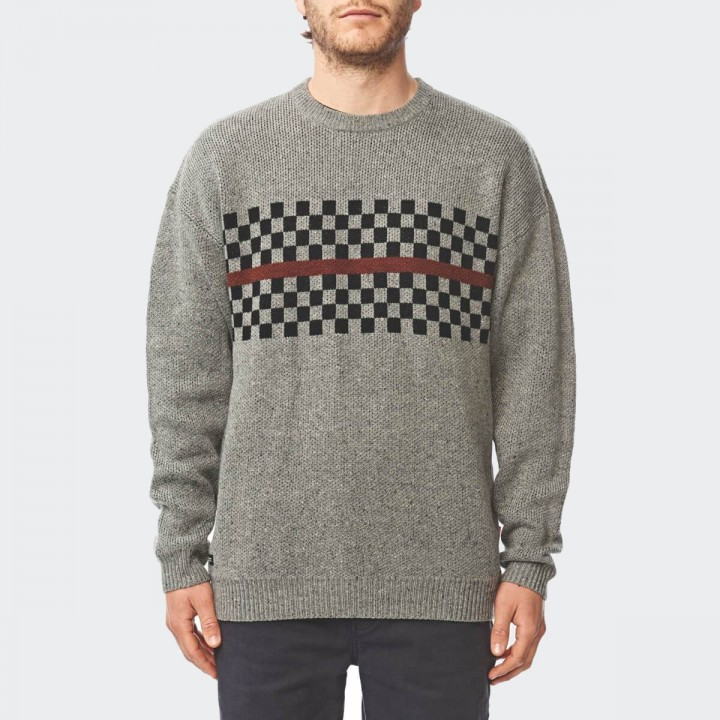 GLOBE - Duster Sweater Grey Nep