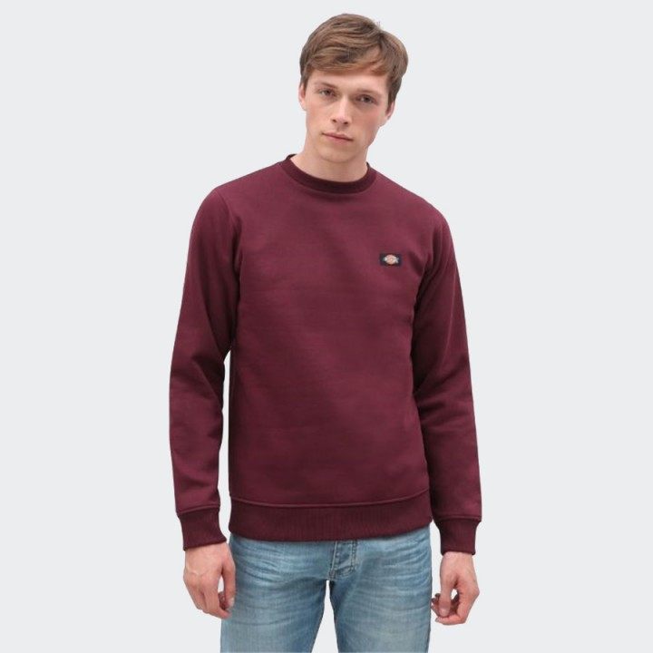 Dickies - New Jersey Sweatshirt Maroon