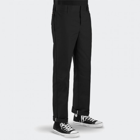 Dickies - Slim Fit Straight Leg Work Pants Black