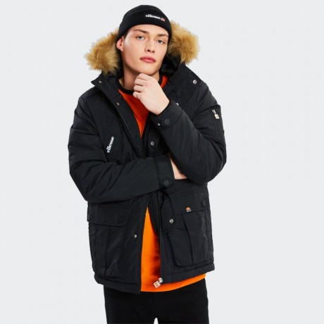Ellesse - Blizzard Parka Jacket Black