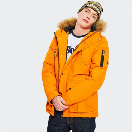 Ellesse - Blizzard Parka Jacket Orange