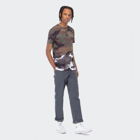Just Hype - HALF CAMO MEN'S T-SHIRT