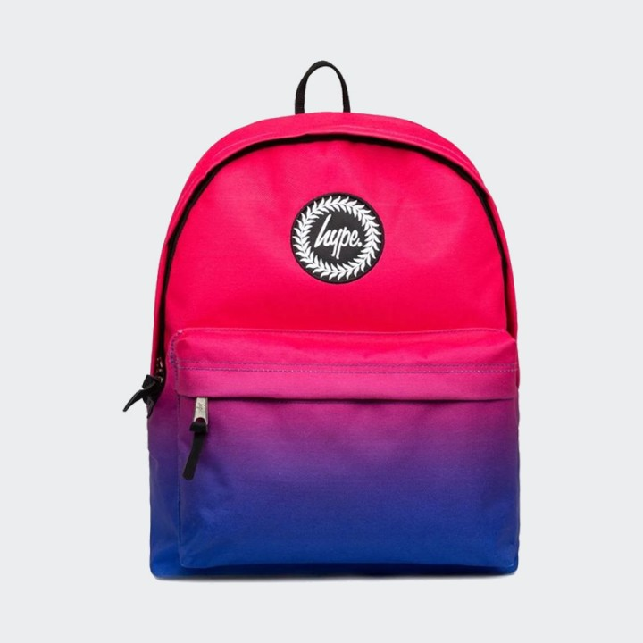 Just Hype - PINK FADE BACKPACK