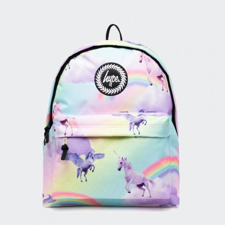 Just Hype - RAINBOW UNICORN BACKPACK