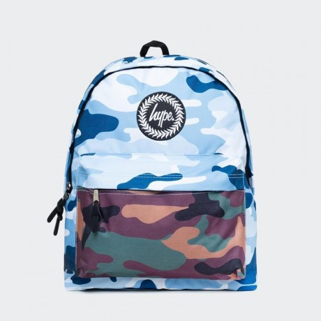Just Hype - DOUBLE CAMO BACKPACK