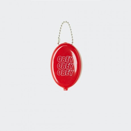 OBEY - Jumble Stacks Coin Holder Red
