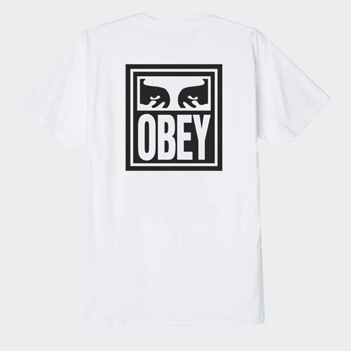 OBEY - Eyes Icon Basic T-Shirt White