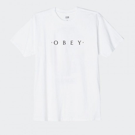 OBEY - Novel OBEY Basic T-Shirt White