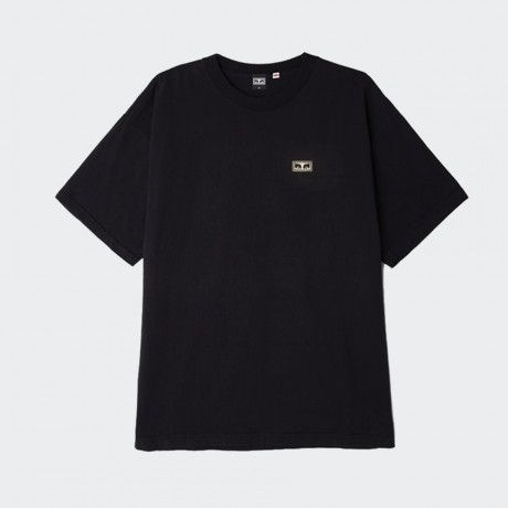 OBEY - Eyes 3 Heavyweight Box T-Shirt Off Black