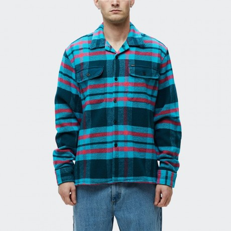OBEY - Fitzgerald Shirt Deep Teal