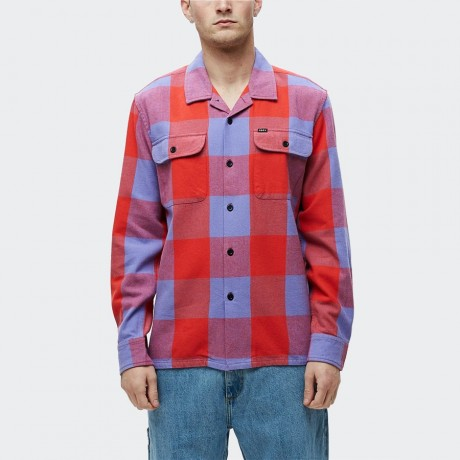 OBEY - Casual Shirt Red Multi