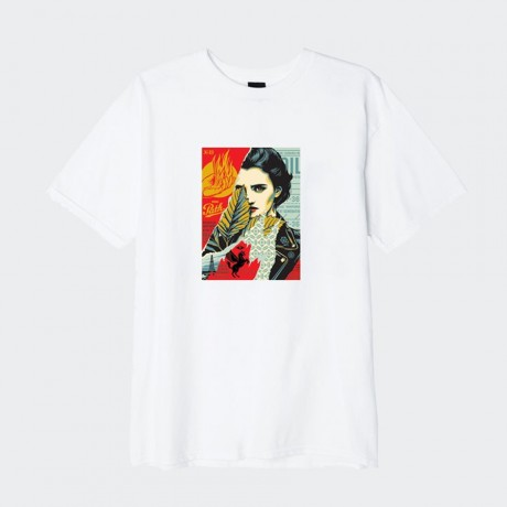 OBEY - Wrong Path Basic T-Shirt White