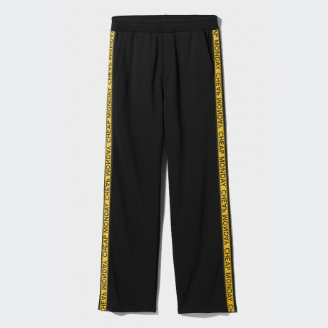 Cheap Monday - Fast Logo Trousers Black