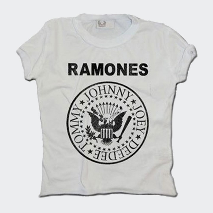 Amplified - Kids Ramones Logo  T-shirt