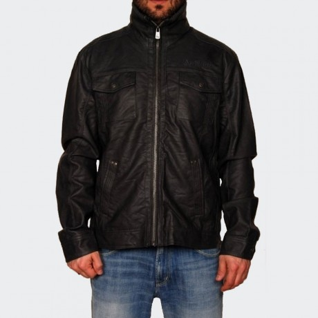 Amplified - Mehler Faux Leather Jacket
