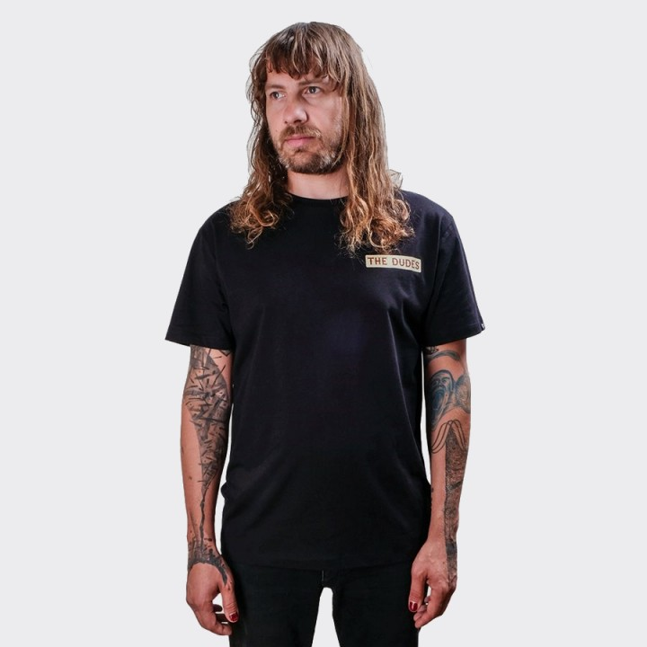 The Dudes - Bacon Cheese Burgers T-shirt Black