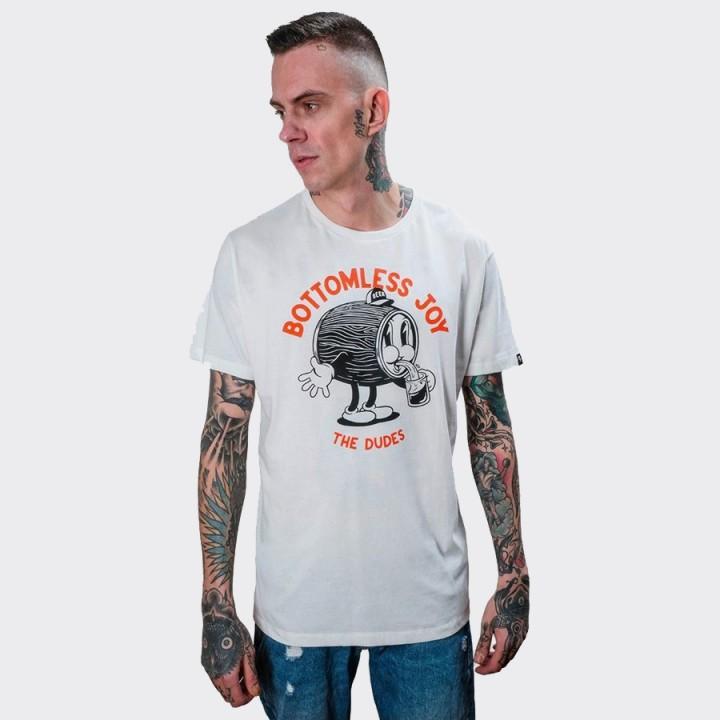 The Dudes - Bottomless Joy T-shirt White