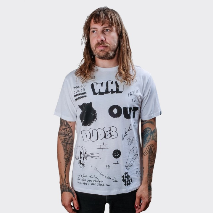 The Dudes - Draft T-shirt White
