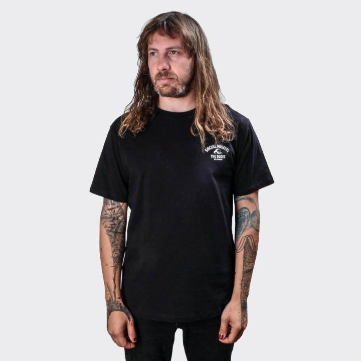 The Dudes - Mr Finger T-shirt Black