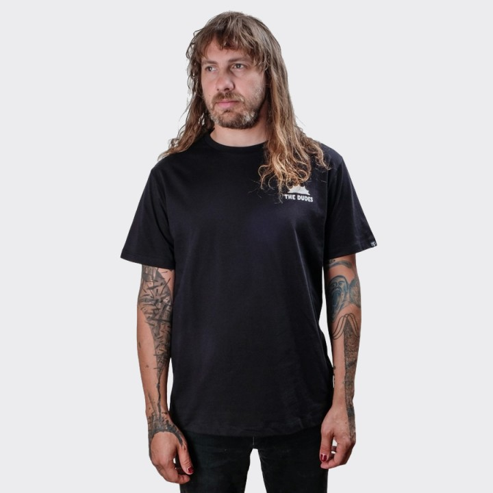 The Dudes - Nighttime Company T-shirt Black