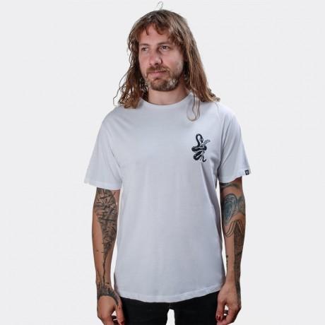 The Dudes - Snake T-shirt White