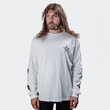 The Dudes - Cou Cou Longsleeve T-shirt White
