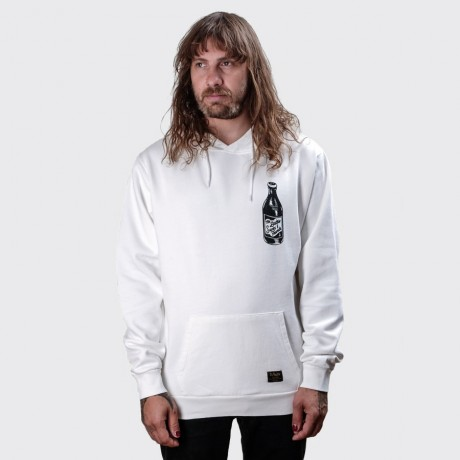 The Dudes - Too Short Drinks Hoodie White