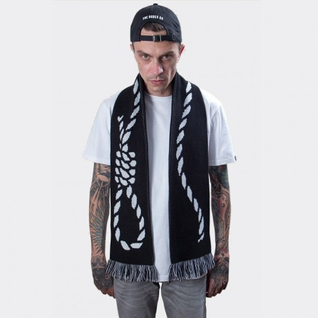 The Dudes - Rope Scarf Black