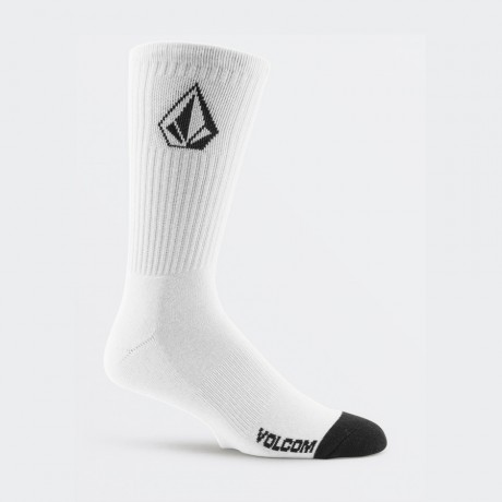 Volcom - FULL STONE SOCK 3PK WHITE