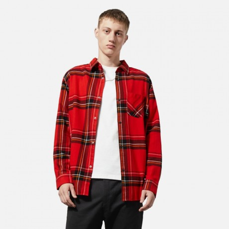Weekday - Lumber Shirt Red