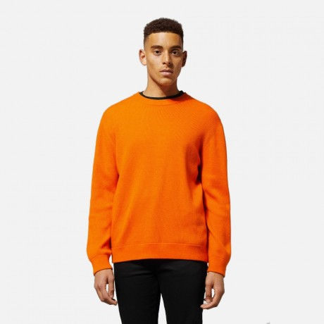 Weekday - Smyth Rib Sweater Orange