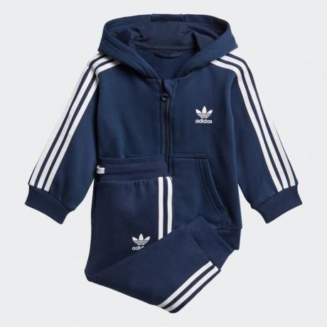 adidas originals - Trefoil Full Zip Hoodie Track Suit